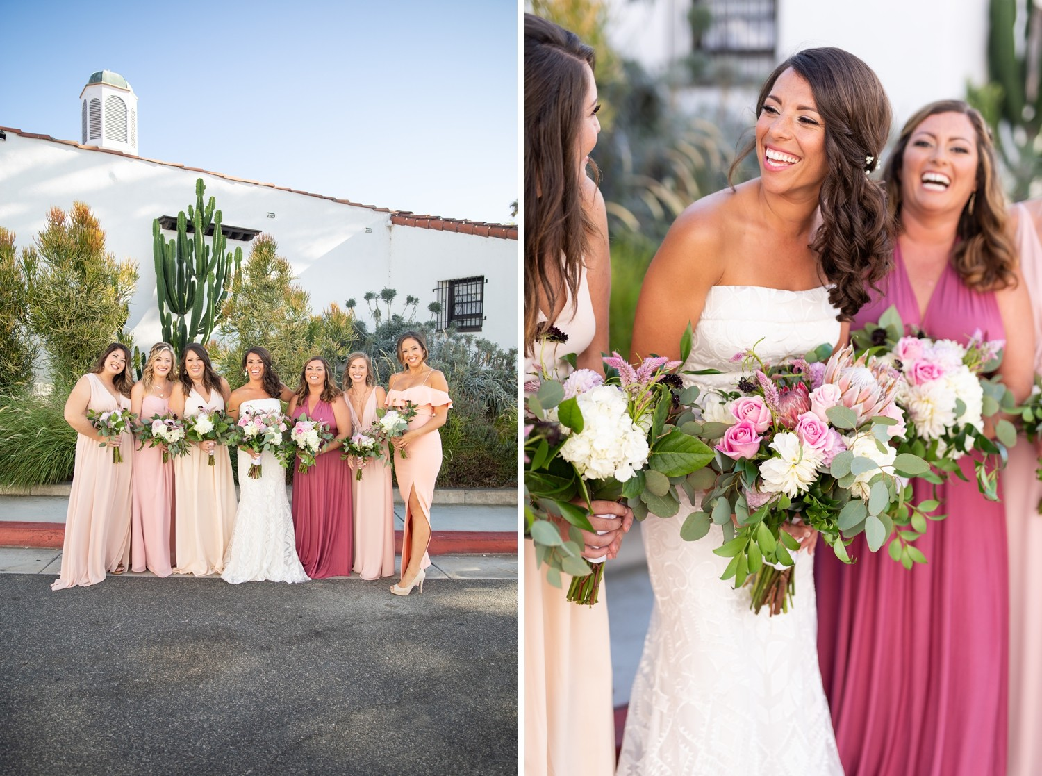 The Casino San Clemente Wedding