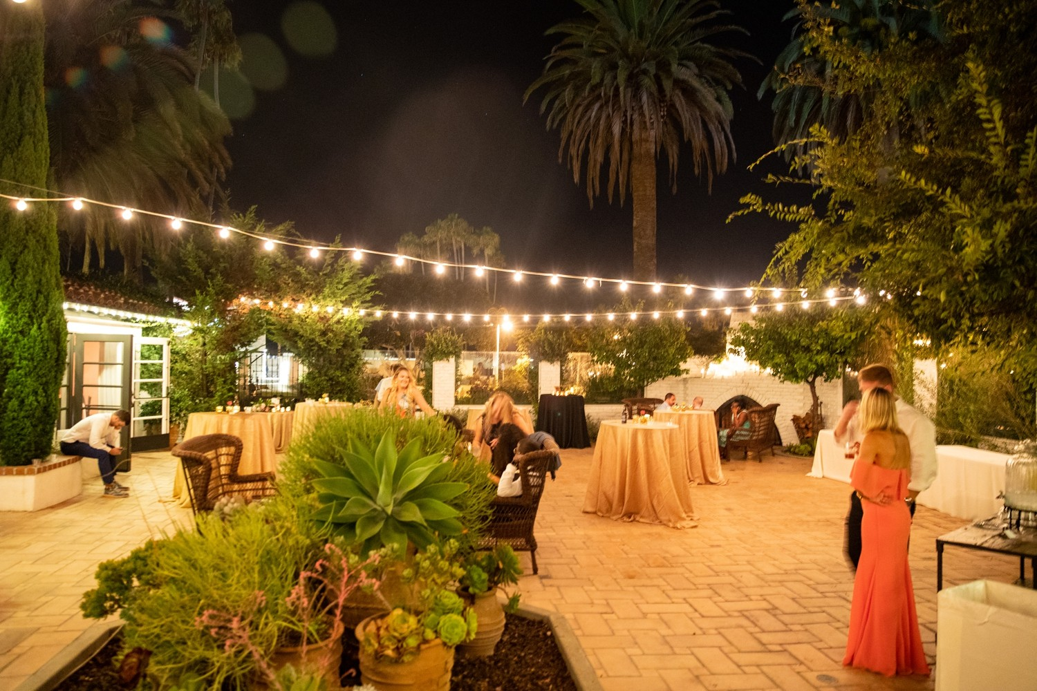 The Casino San Clemente Wedding Reception