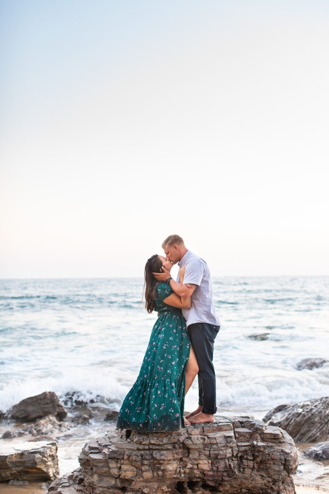 Crystal Cove State Beach Engagement