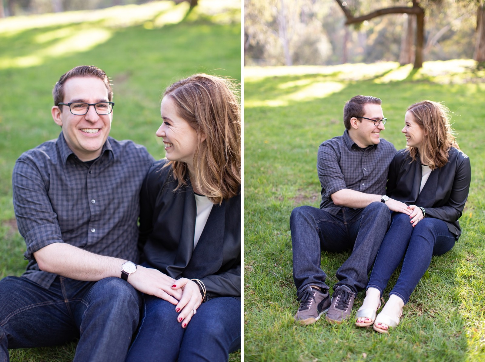 LA Griffith Park Engagement