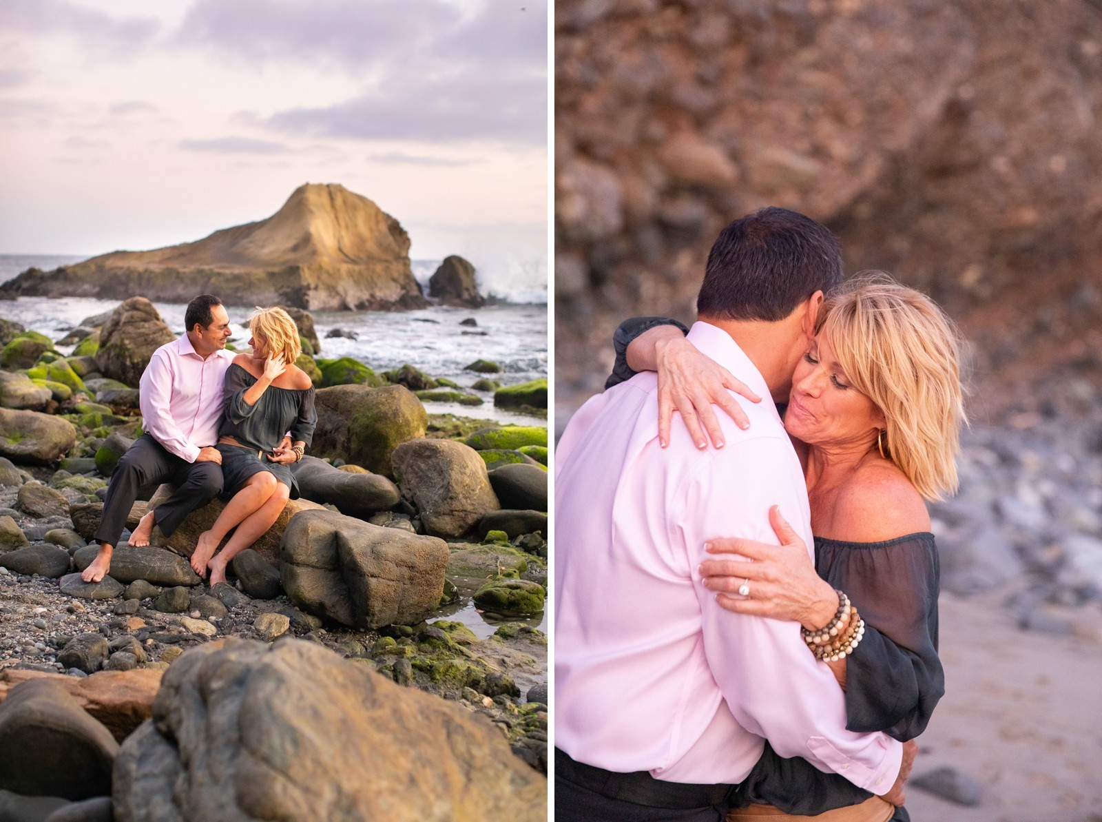 Dana Point Beach Engagement