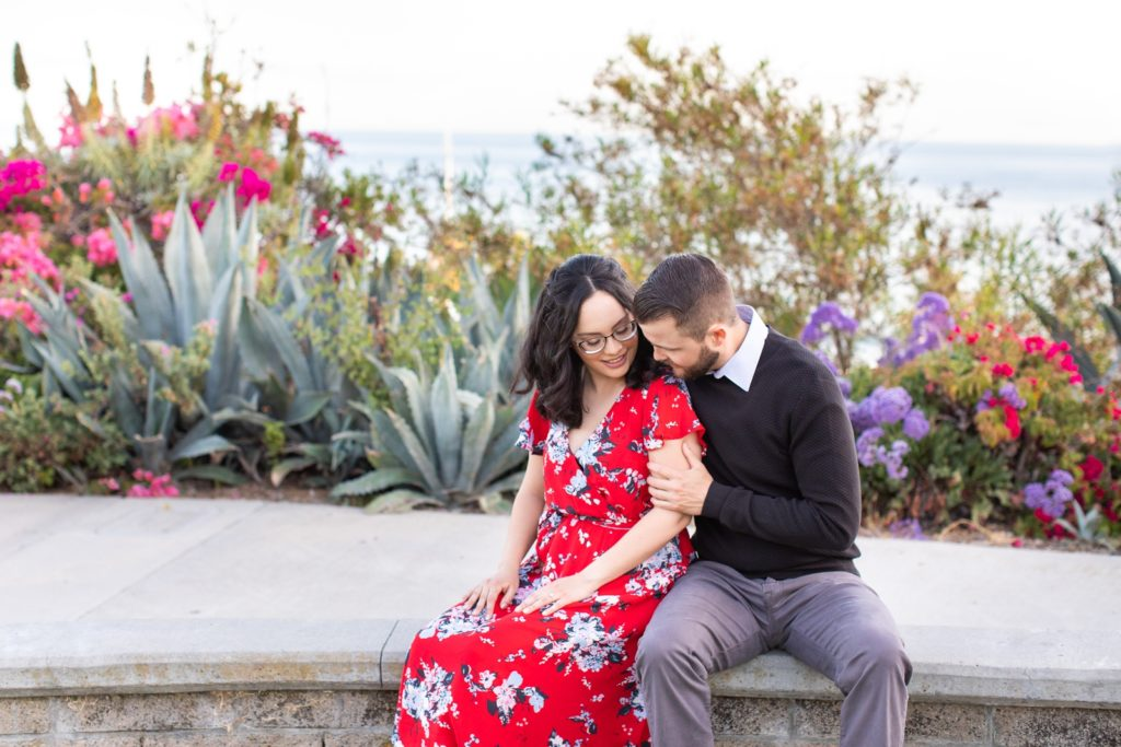 San Clemente Beach Engagement