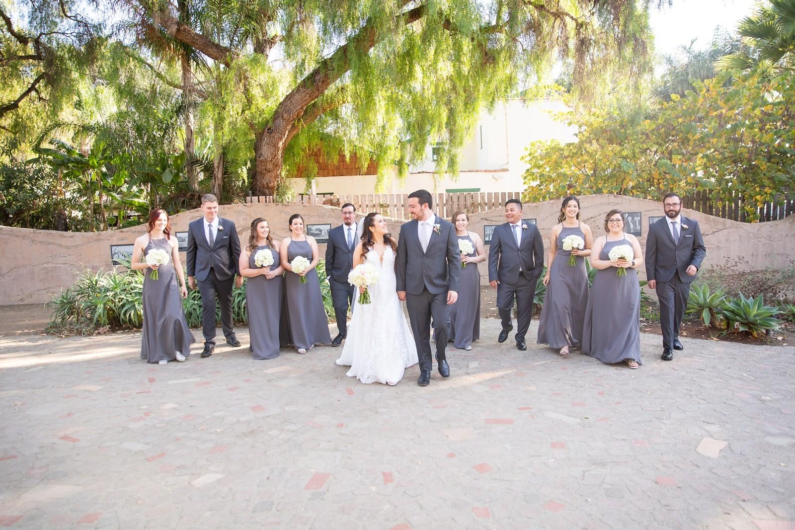 Plaza De Magdalena Wedding San Juan Capistrano