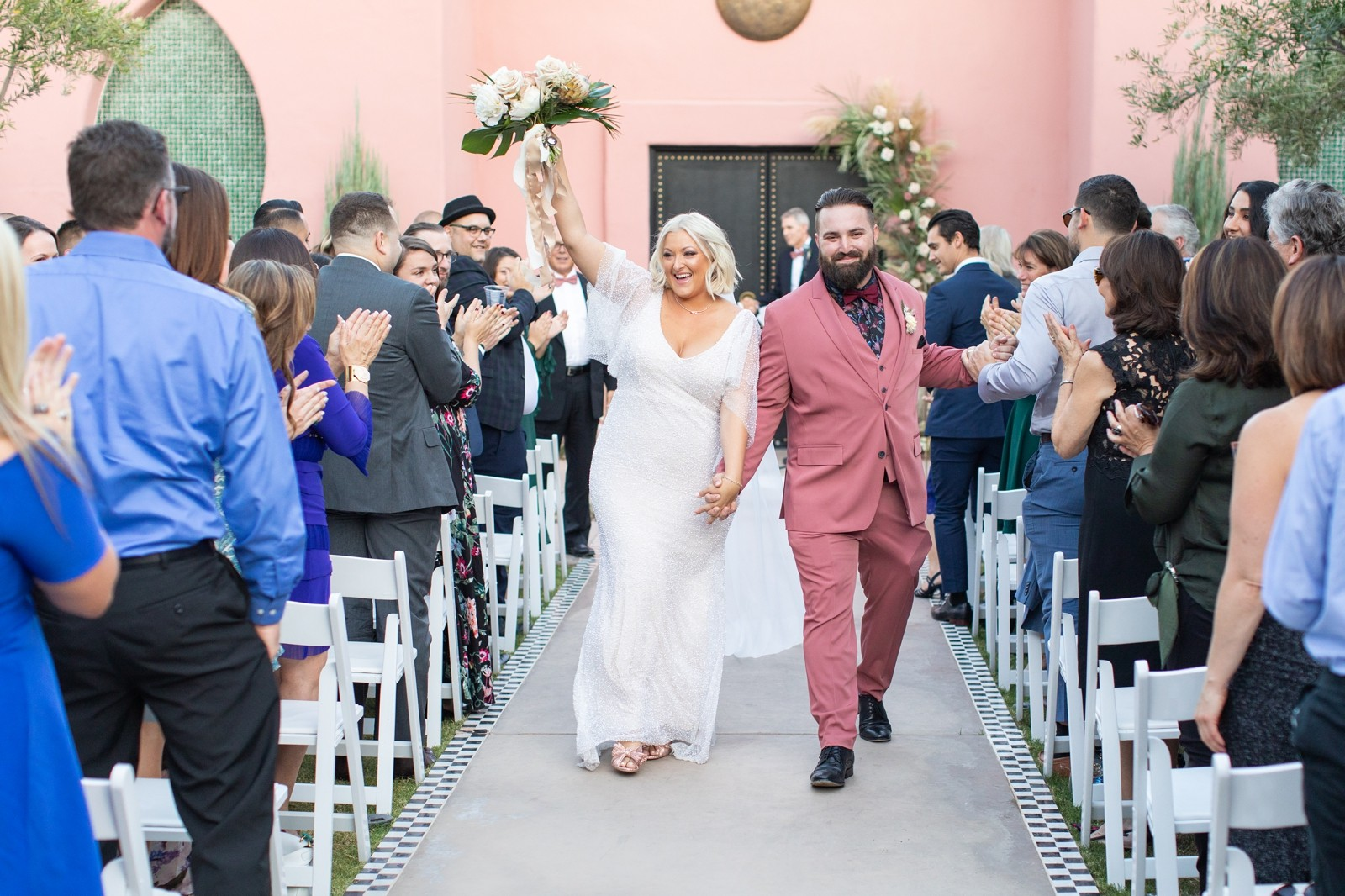 Palm Springs Desert Sands Hotel Wedding