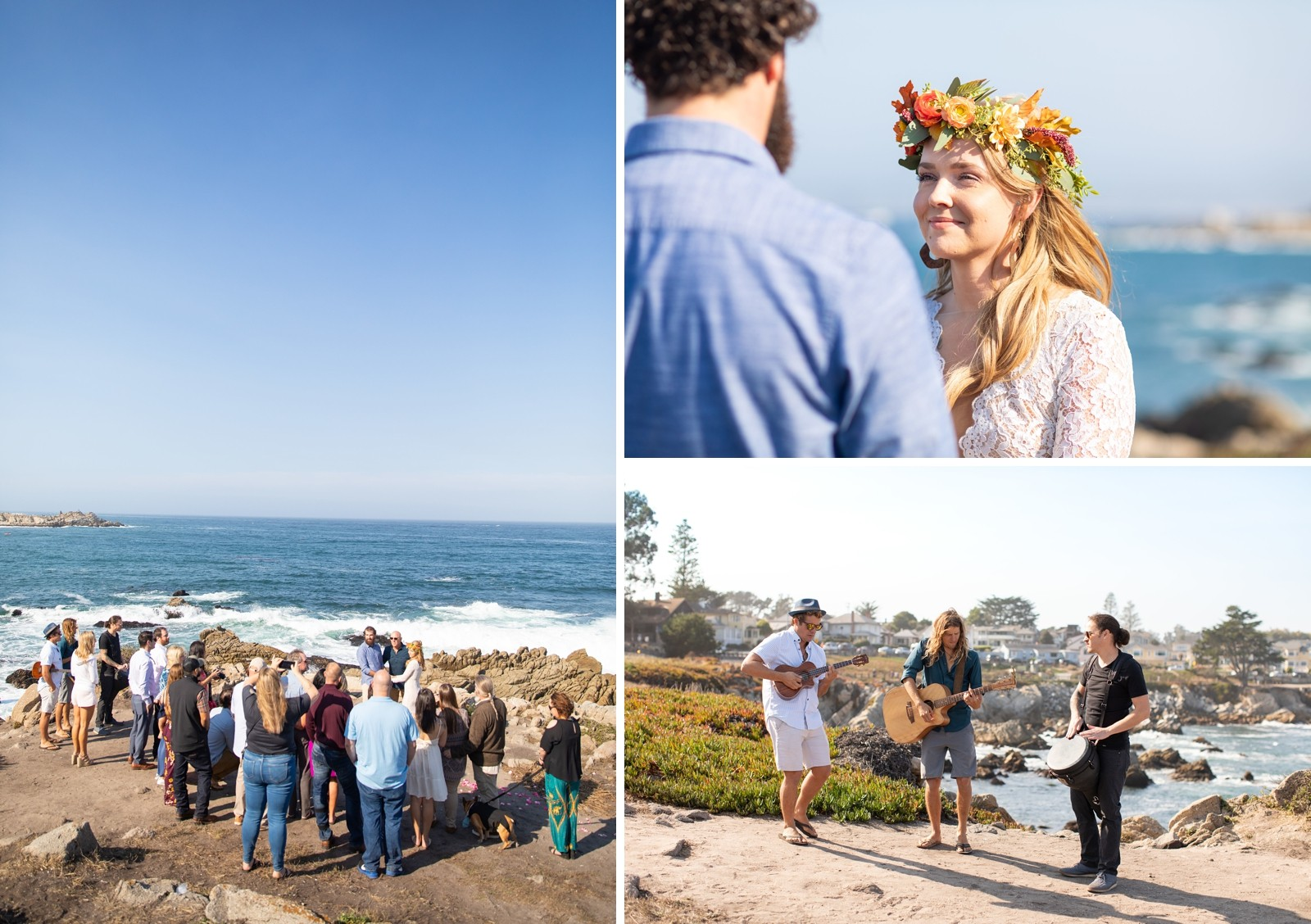 Monterey Beach Destination Wedding