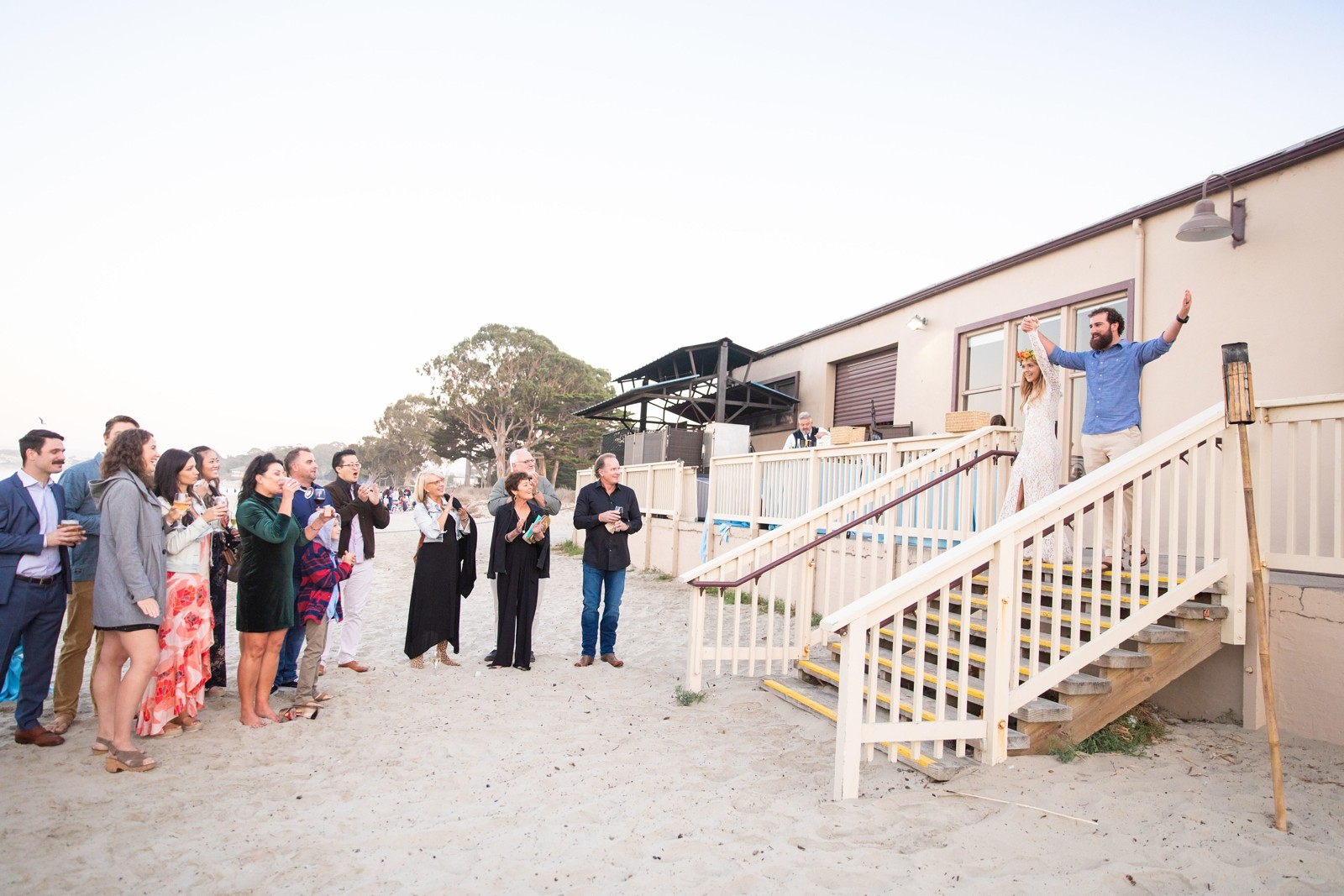 Monterey Beach House Destination Wedding