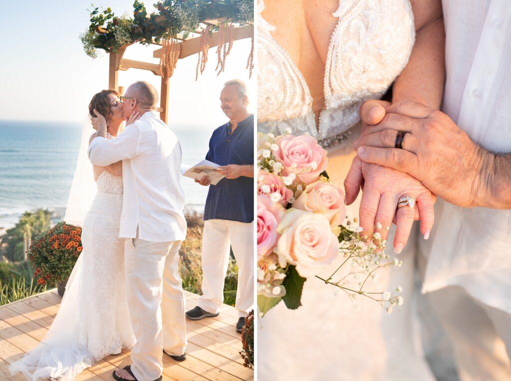 micro wedding elopement beach