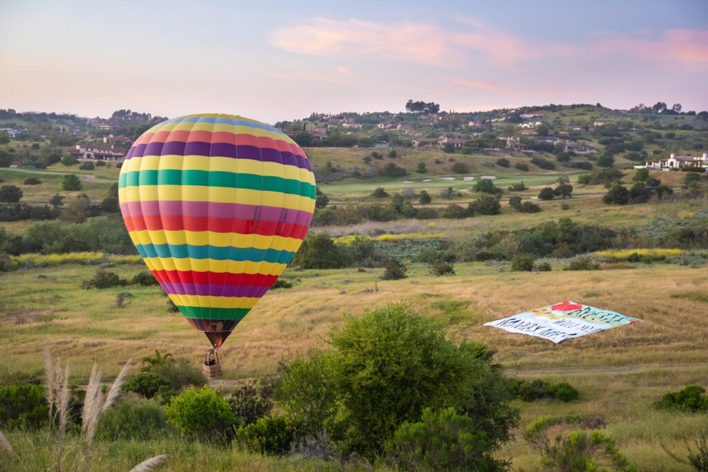 Hot Air Balloon Proposal Engagement